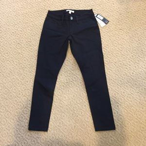 Sloan's Fit Slim stretch black jeans petite
